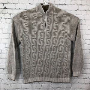 Tommy Bahama cable knit sweater size M